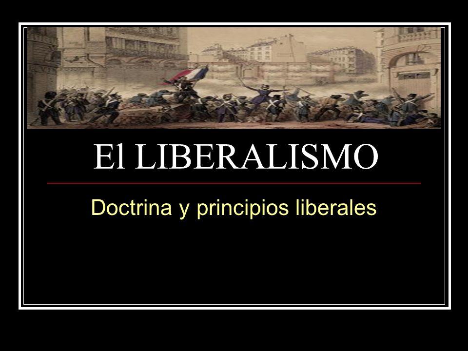 Doctrina y principios liberales