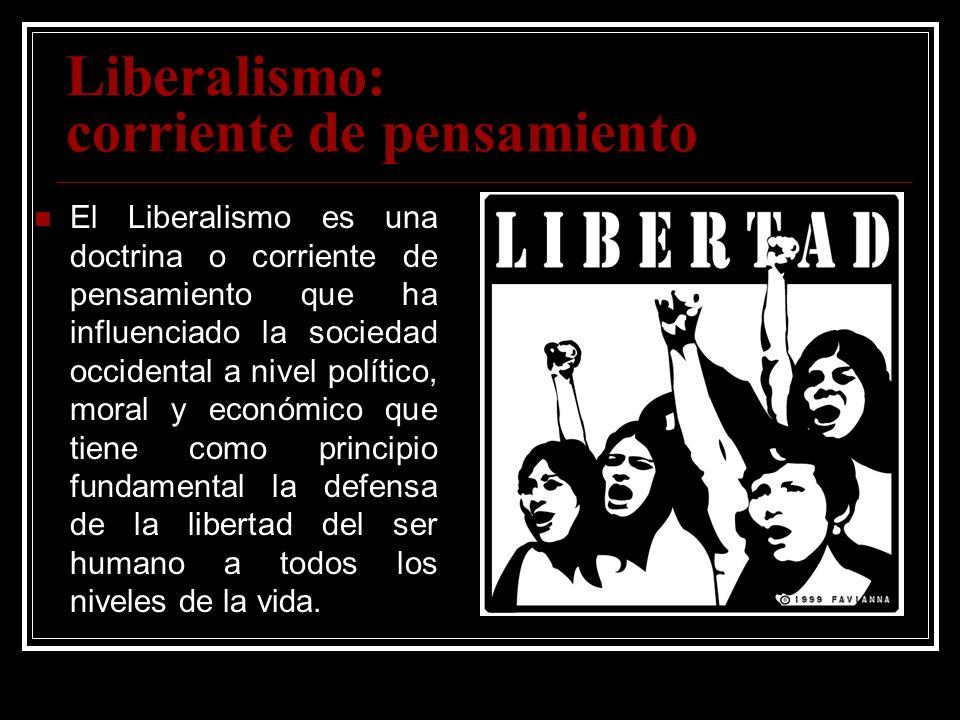 Liberalismo: corriente de pensamiento