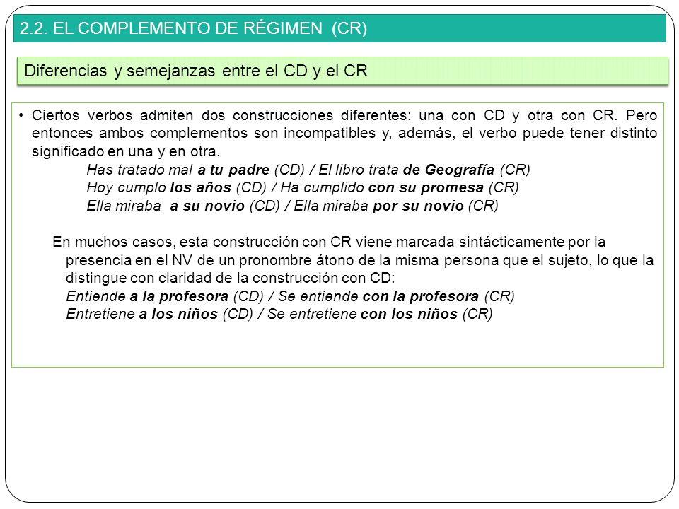 2.2. EL COMPLEMENTO DE RÉGIMEN (CR)