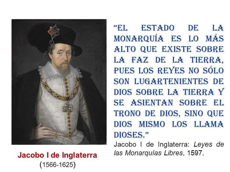 Jacobo I de Inglaterra (1566-1625)