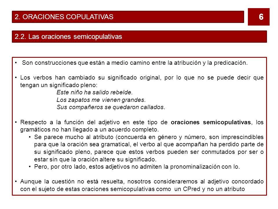 2. ORACIONES COPULATIVAS