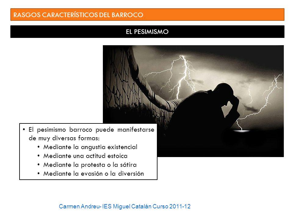 RASGOS CARACTERÍSTICOS DEL BARROCO