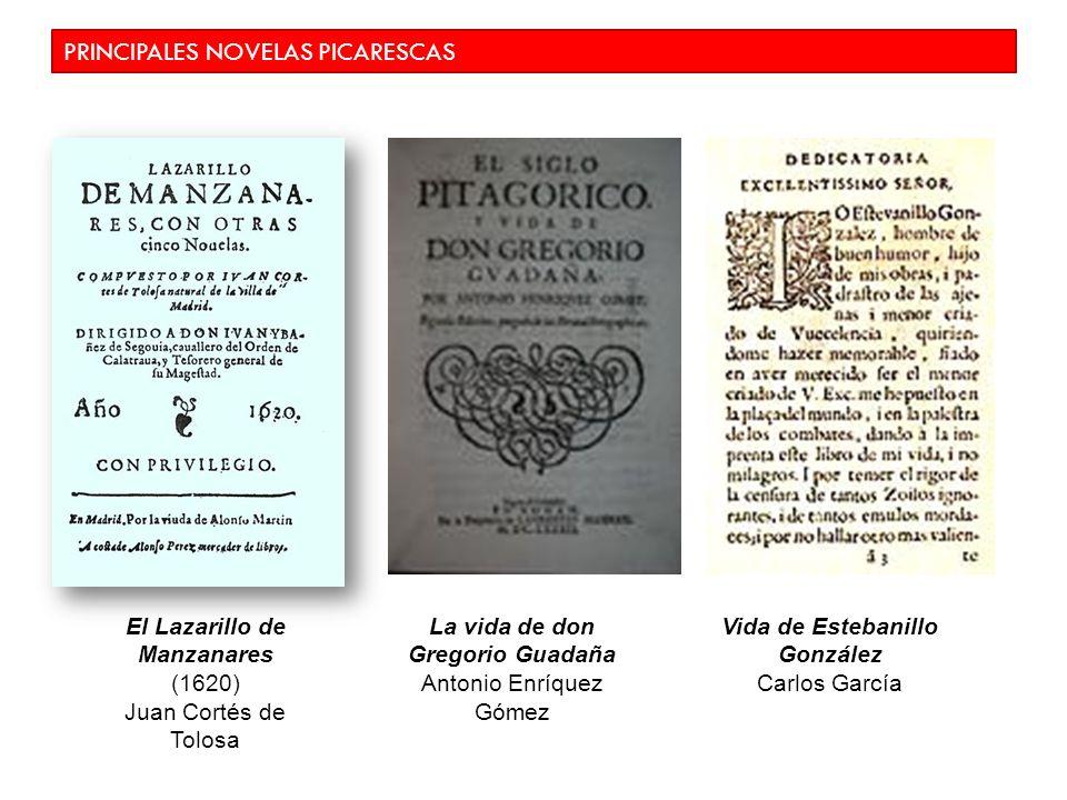 PRINCIPALES NOVELAS PICARESCAS