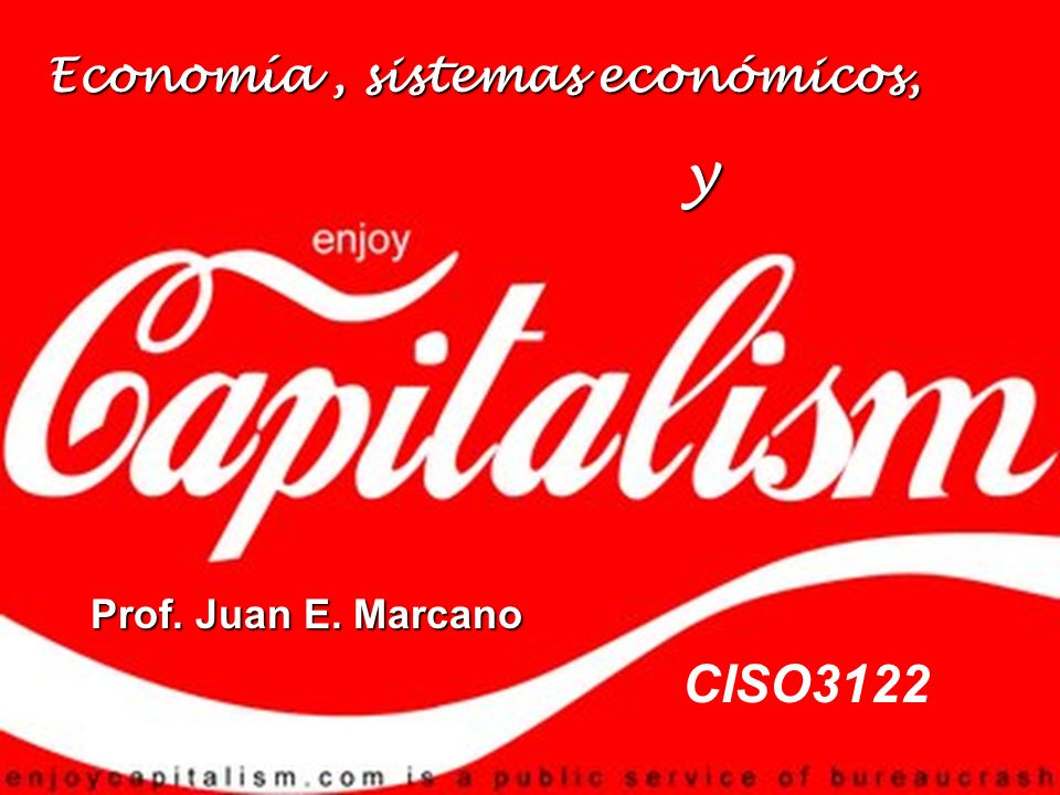 Economía , sistemas económicos,