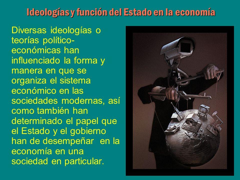 Ideologías y función del Estado en la economía