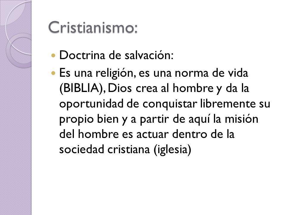 Cristianismo: Doctrina de salvación: