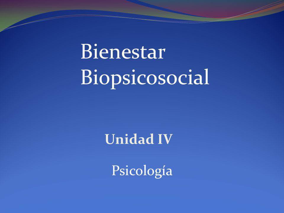 Bienestar Biopsicosocial
