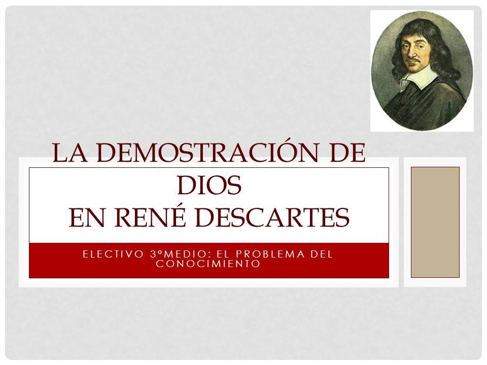 La demostración de Dios en René Descartes