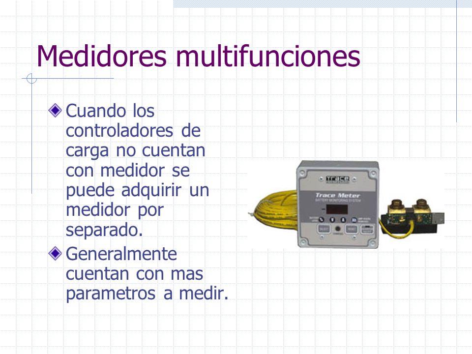 Medidores multifunciones