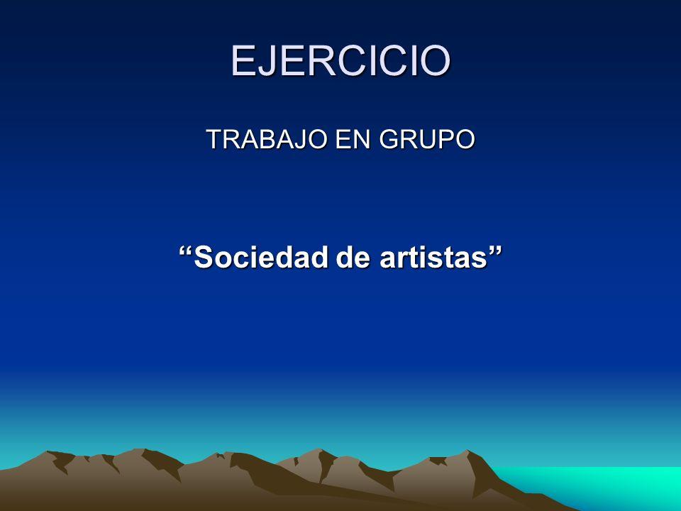 Sociedad de artistas