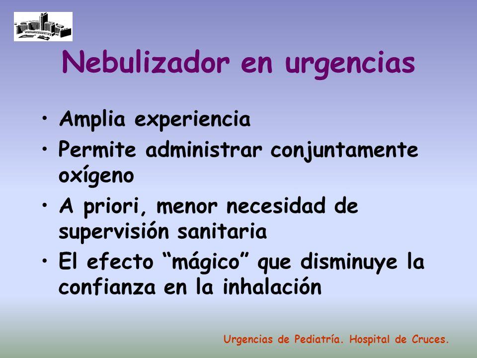 Nebulizador en urgencias