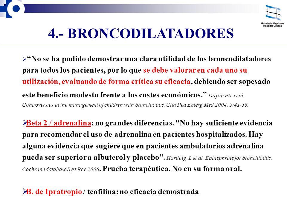 4.- BRONCODILATADORES