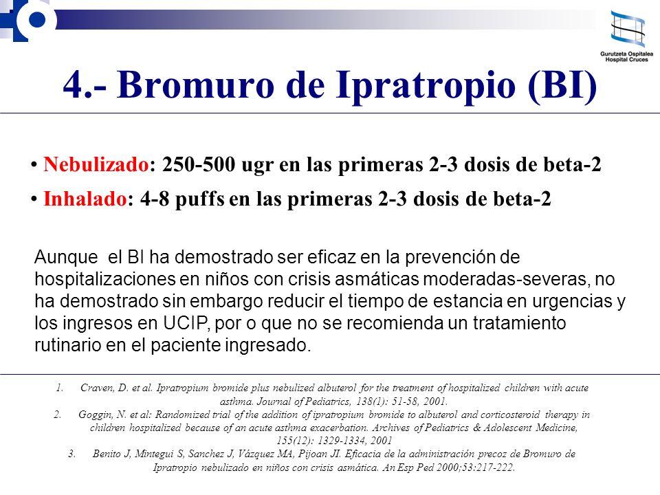 4.- Bromuro de Ipratropio (BI)