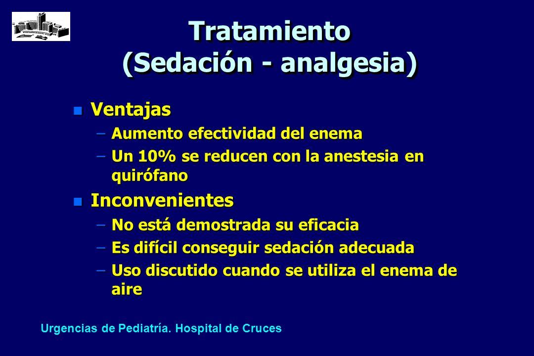 Tratamiento (Sedación - analgesia)