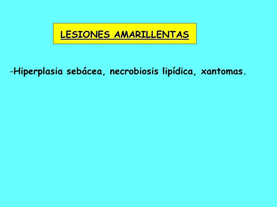 LESIONES AMARILLENTAS