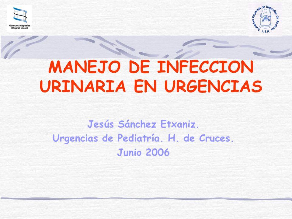 MANEJO DE INFECCION URINARIA EN URGENCIAS