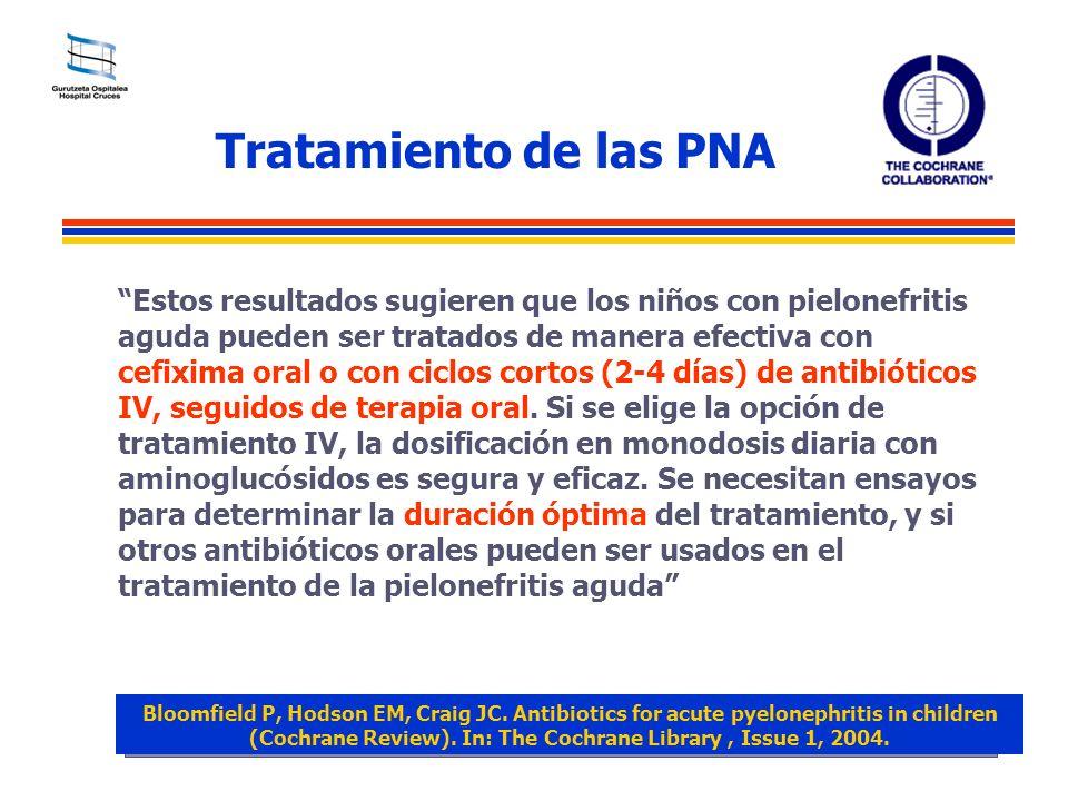 Tratamiento de las PNA