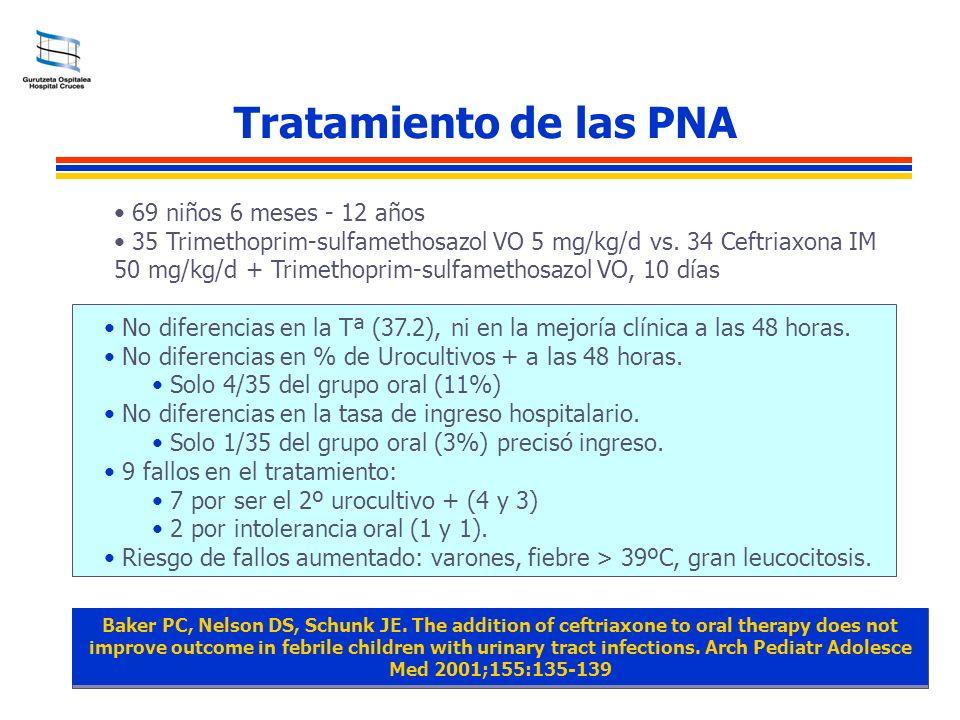 Tratamiento de las PNA 69 niños 6 meses - 12 años