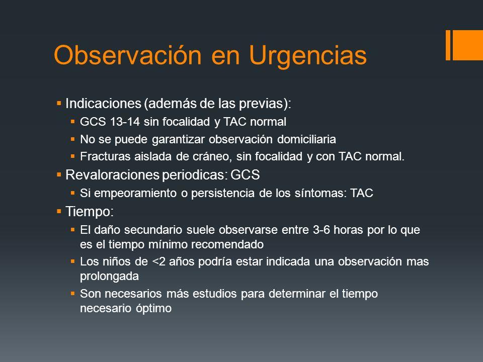 Observación en Urgencias