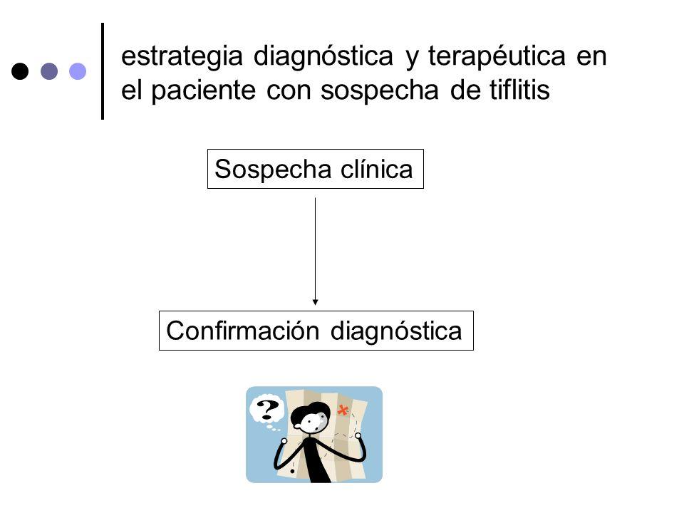estrategia diagnóstica y terapéutica en el paciente con sospecha de tiflitis