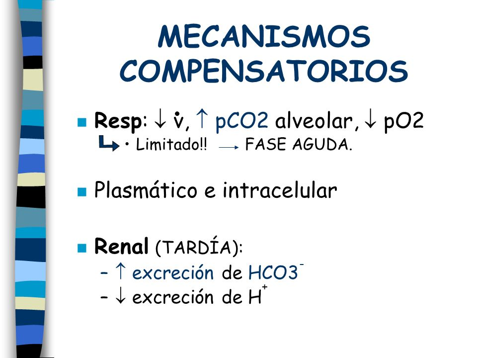 MECANISMOS COMPENSATORIOS