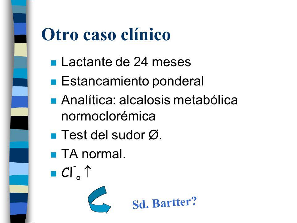 Sd. Bartter Otro caso clínico Lactante de 24 meses