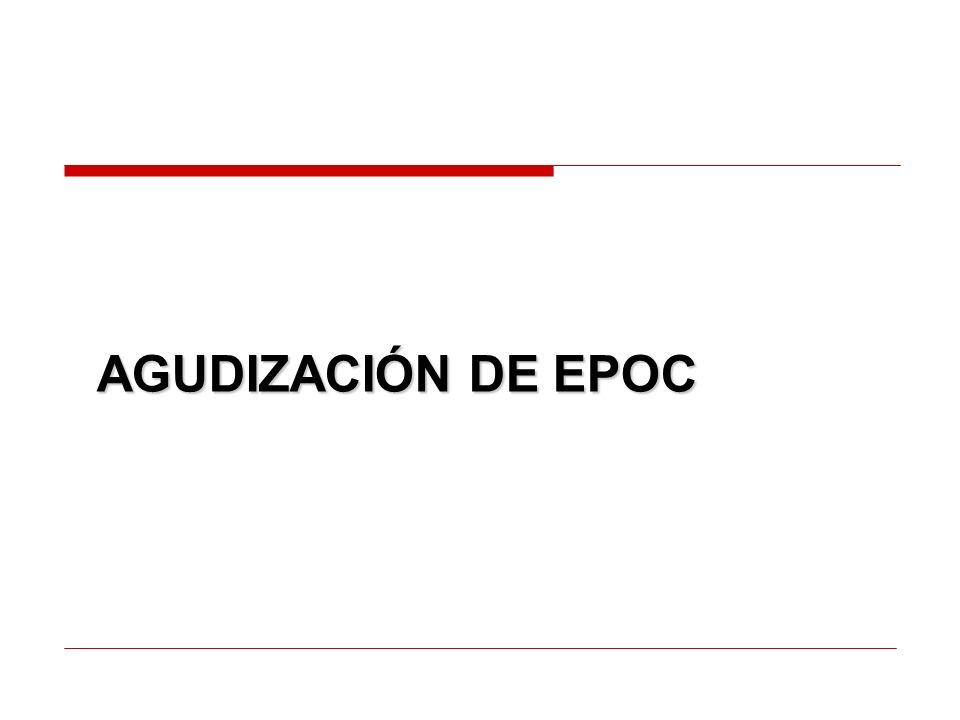 AGUDIZACIÓN DE EPOC