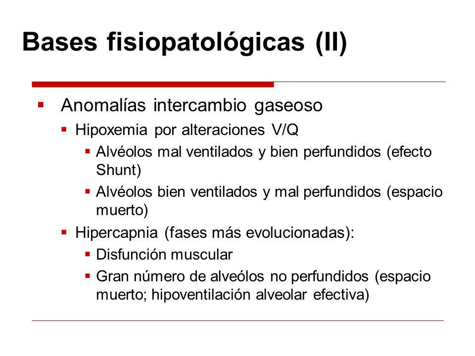 Bases fisiopatológicas (II)