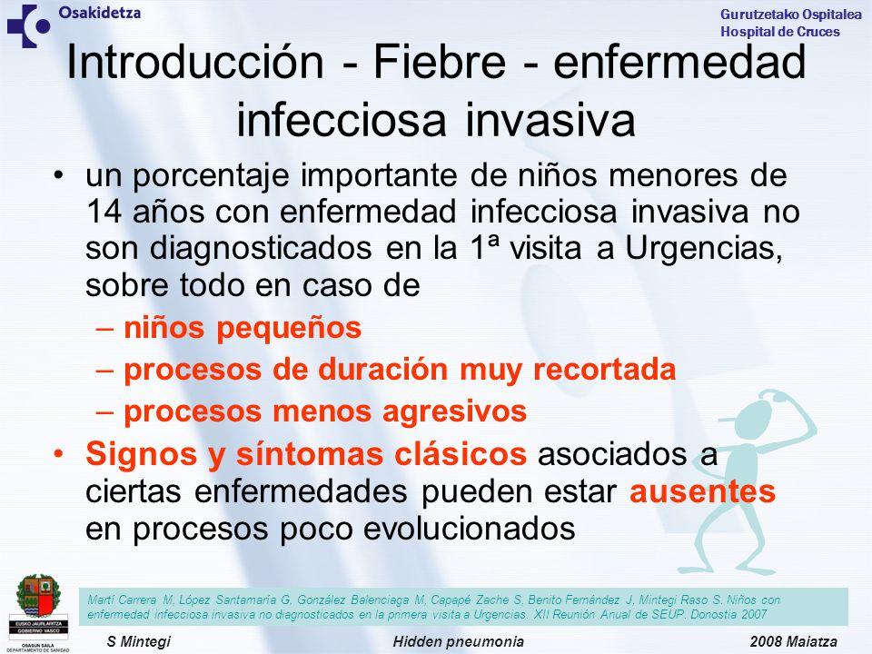 Introducción - Fiebre - enfermedad infecciosa invasiva