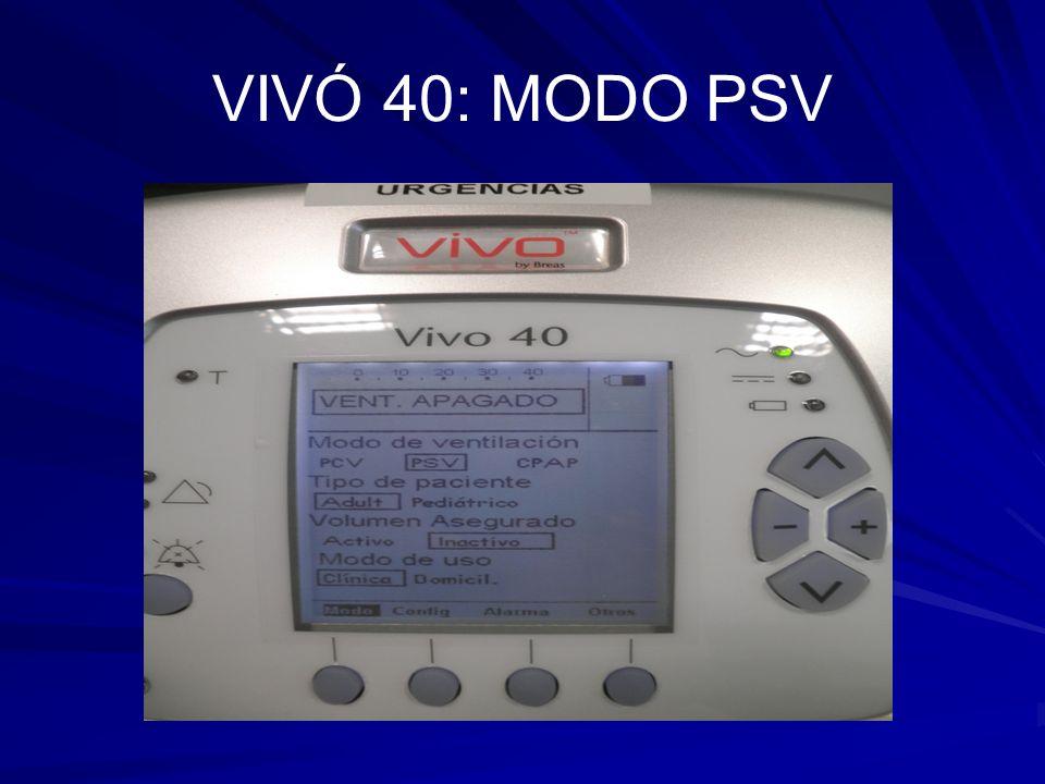 VIVÓ 40: MODO PSV
