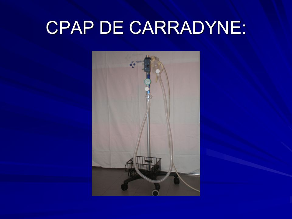 CPAP DE CARRADYNE: