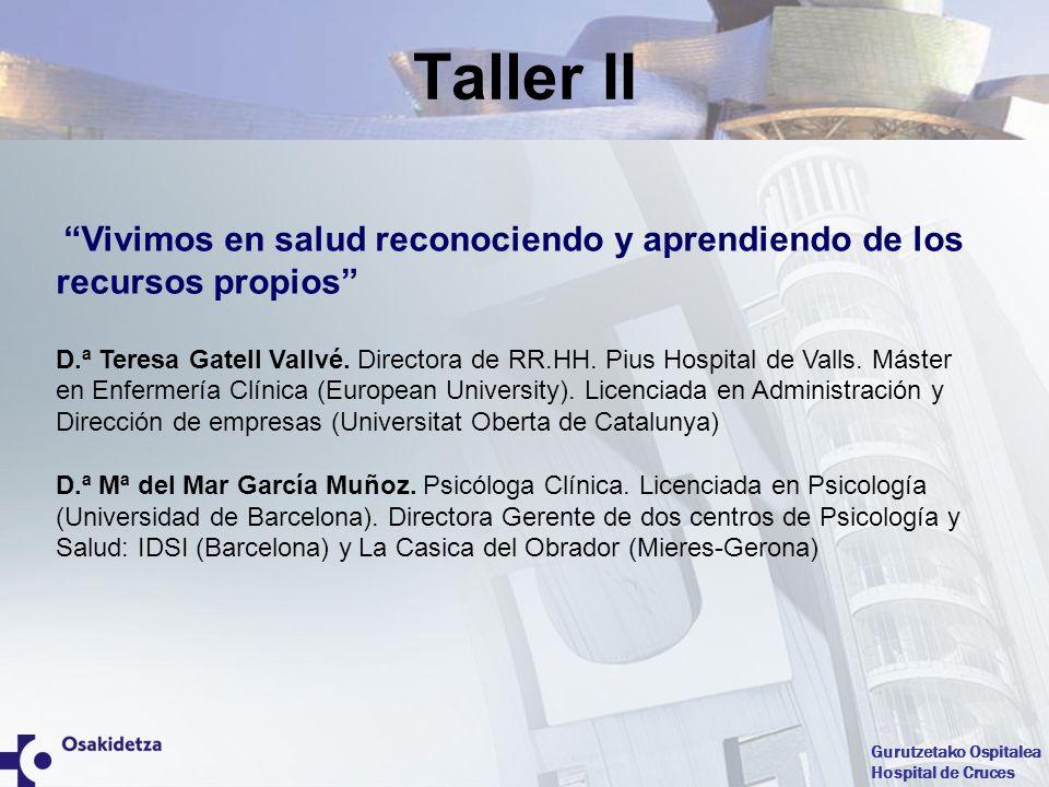 Taller II Vivimos en salud reconociendo y aprendiendo de los recursos propios