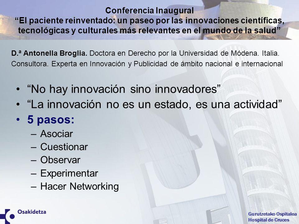 No hay innovación sino innovadores