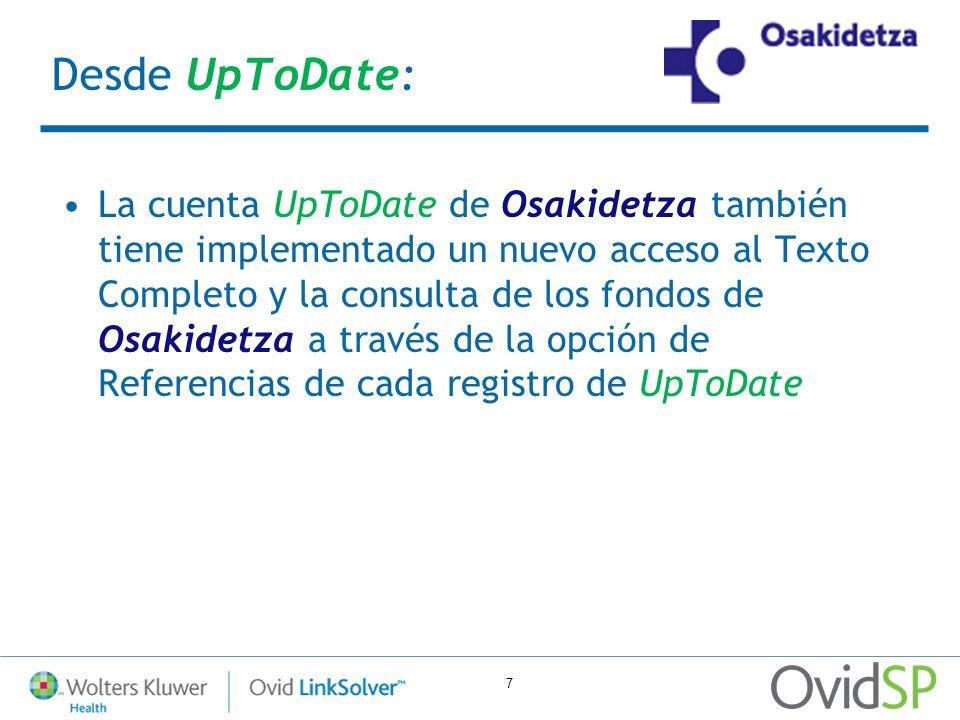 Desde UpToDate: