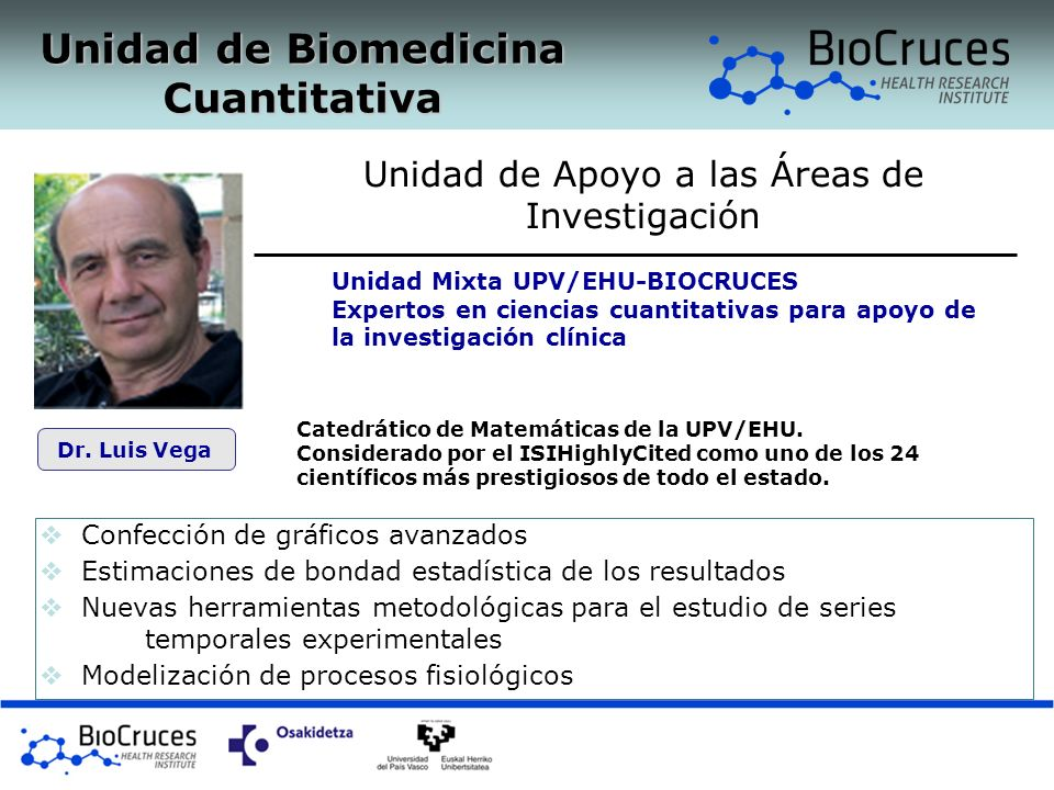 Unidad de Biomedicina Cuantitativa