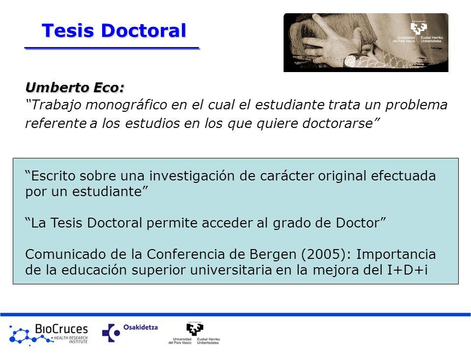 Tesis Doctoral Umberto Eco: