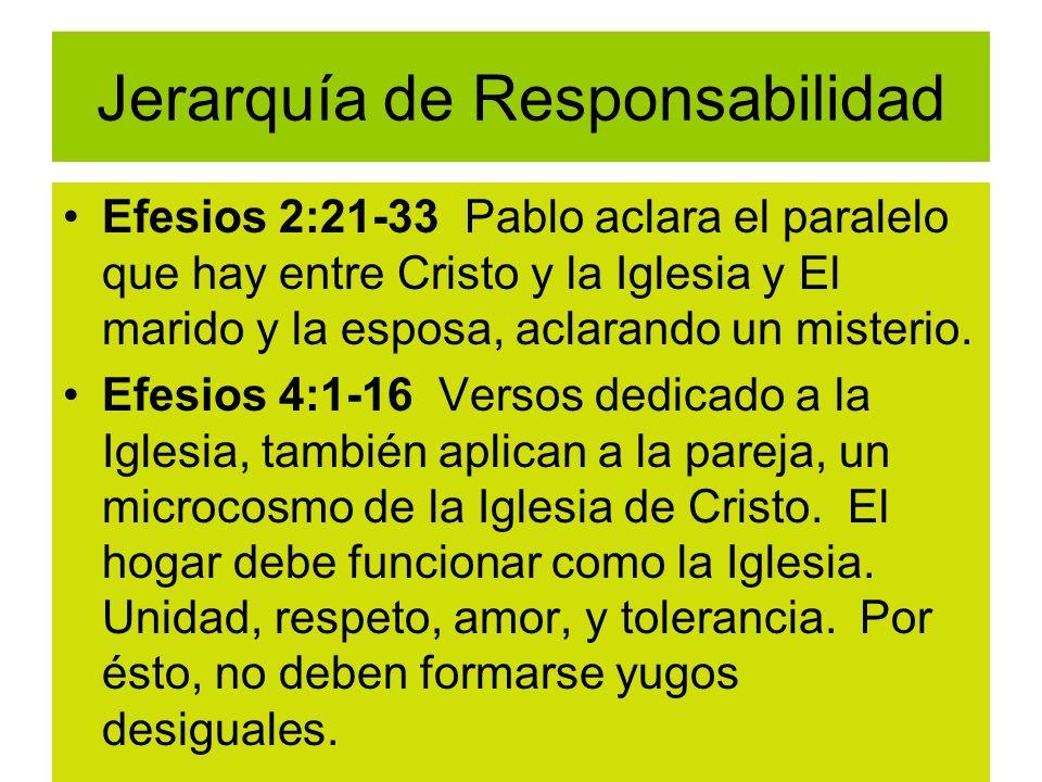 Jerarquía de Responsabilidad