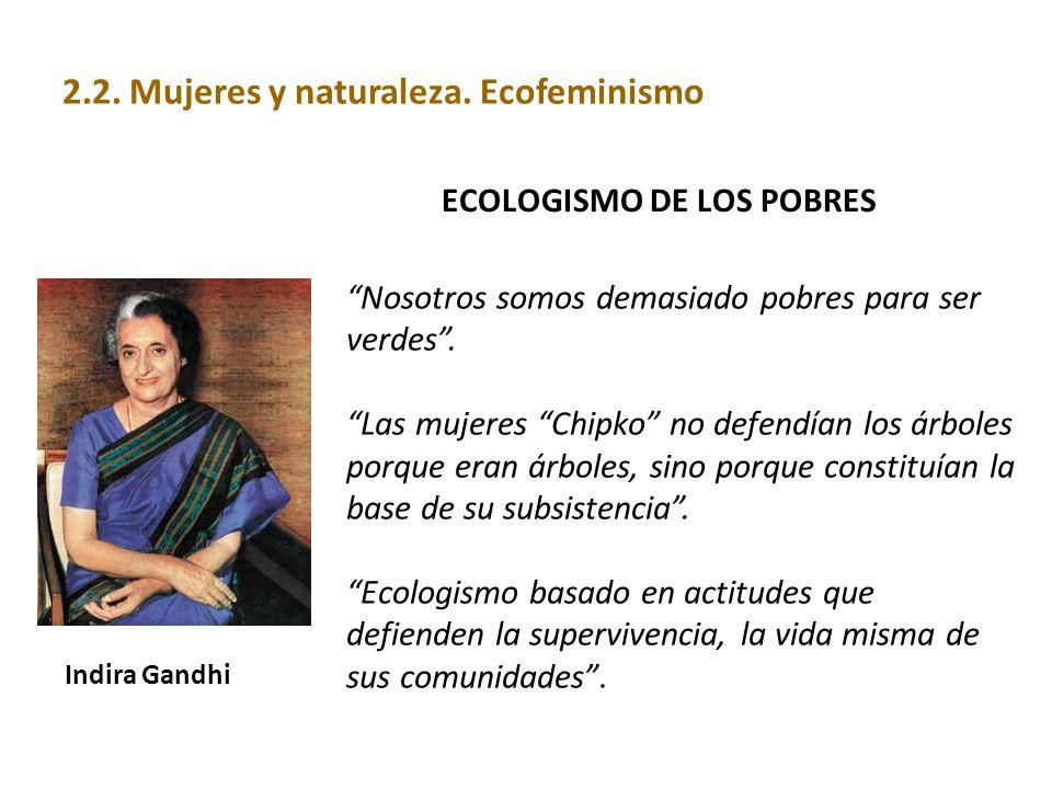 ECOLOGISMO DE LOS POBRES