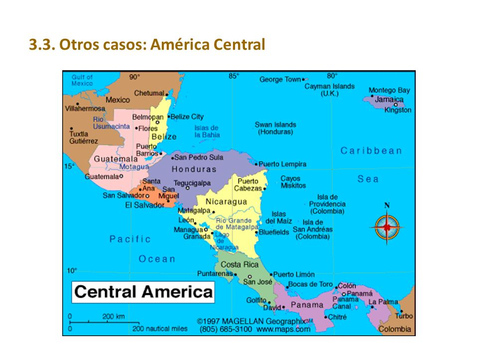 3.3. Otros casos: América Central