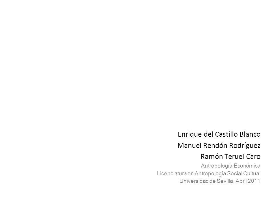 Enrique del Castillo Blanco Manuel Rendón Rodríguez Ramón Teruel Caro