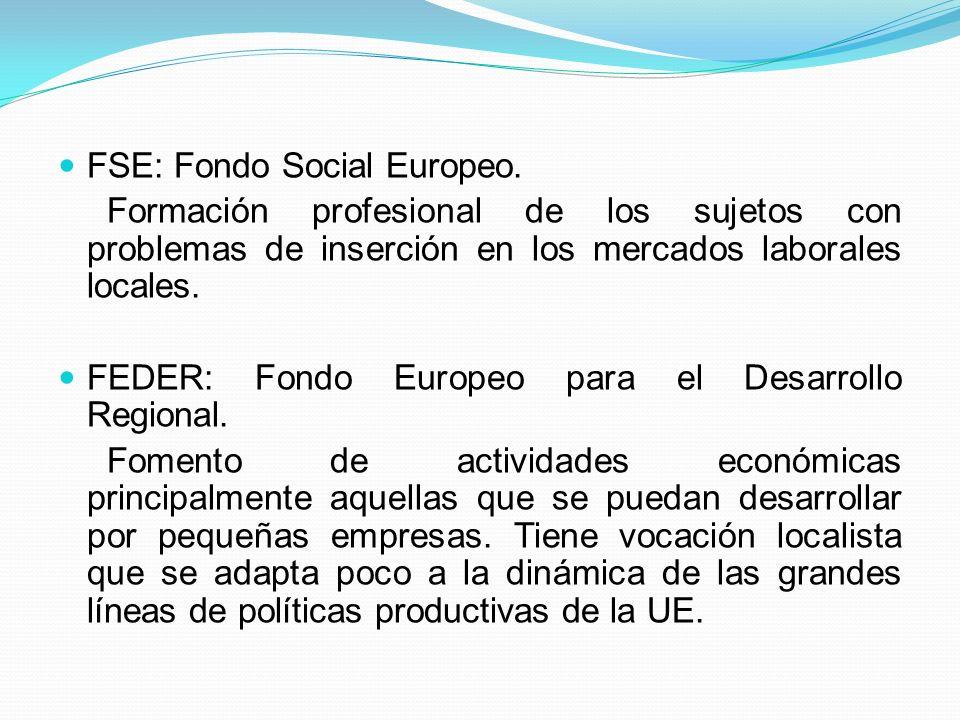 FSE: Fondo Social Europeo.