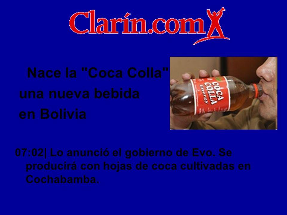 Nace la Coca Colla , una nueva bebida en Bolivia