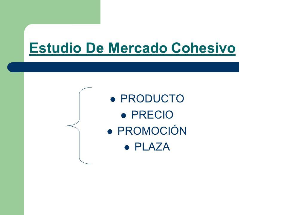 Estudio De Mercado Cohesivo