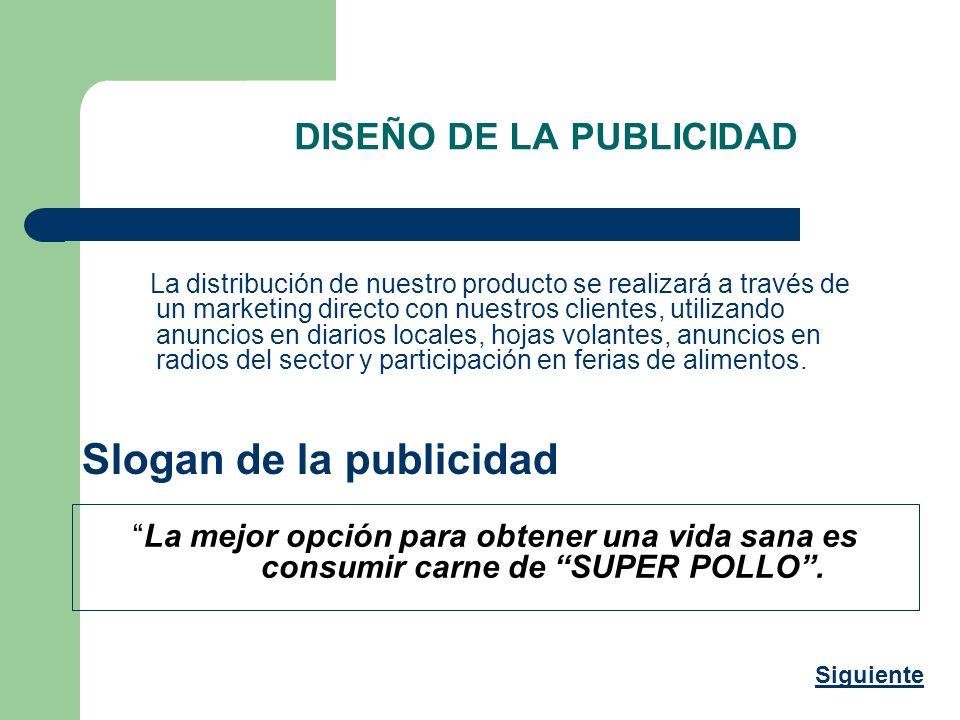 DISEÑO DE LA PUBLICIDAD