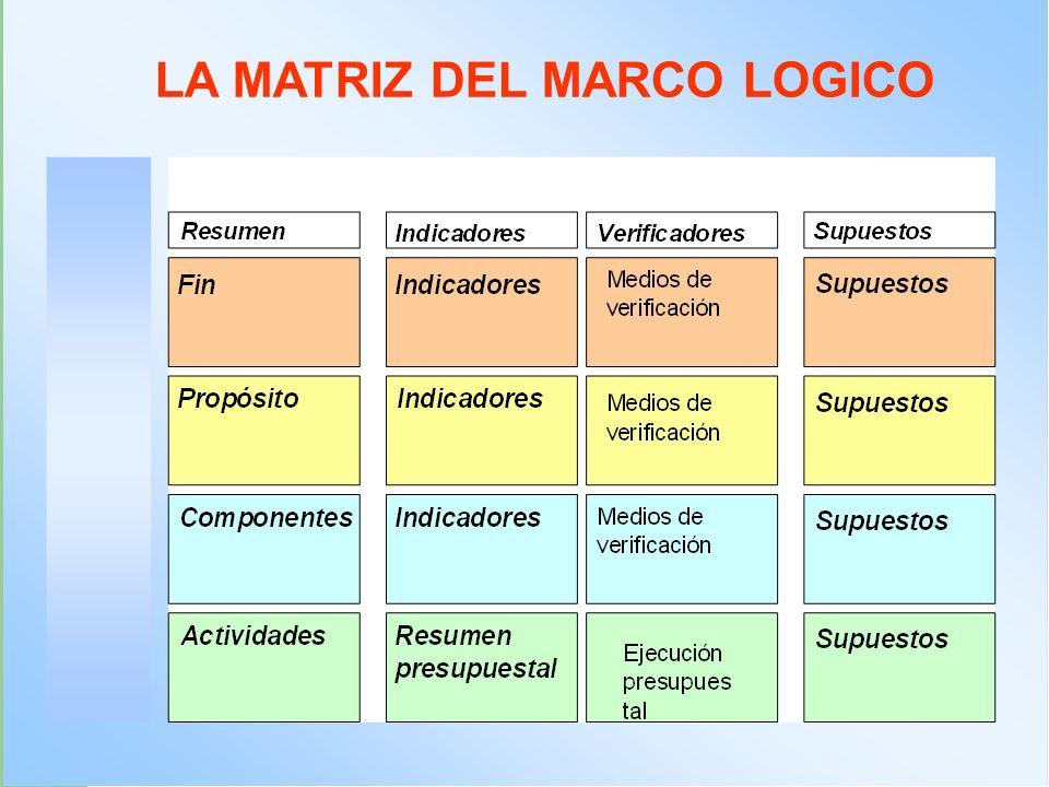 La Matriz de Marco Lógico - ppt video online descargar