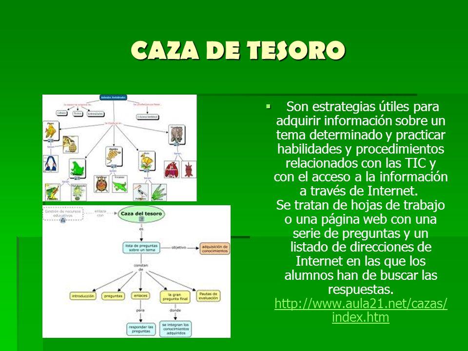 CAZA DE TESORO