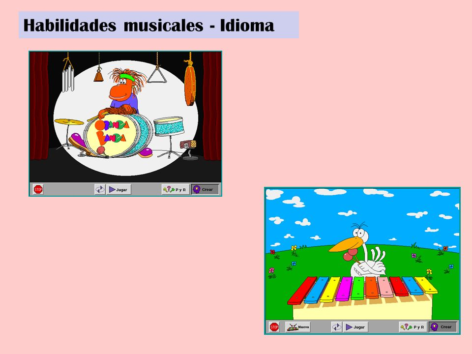 Habilidades musicales - Idioma