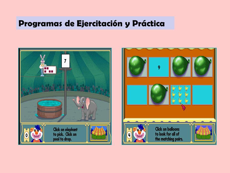 Programas de Ejercitación y Práctica