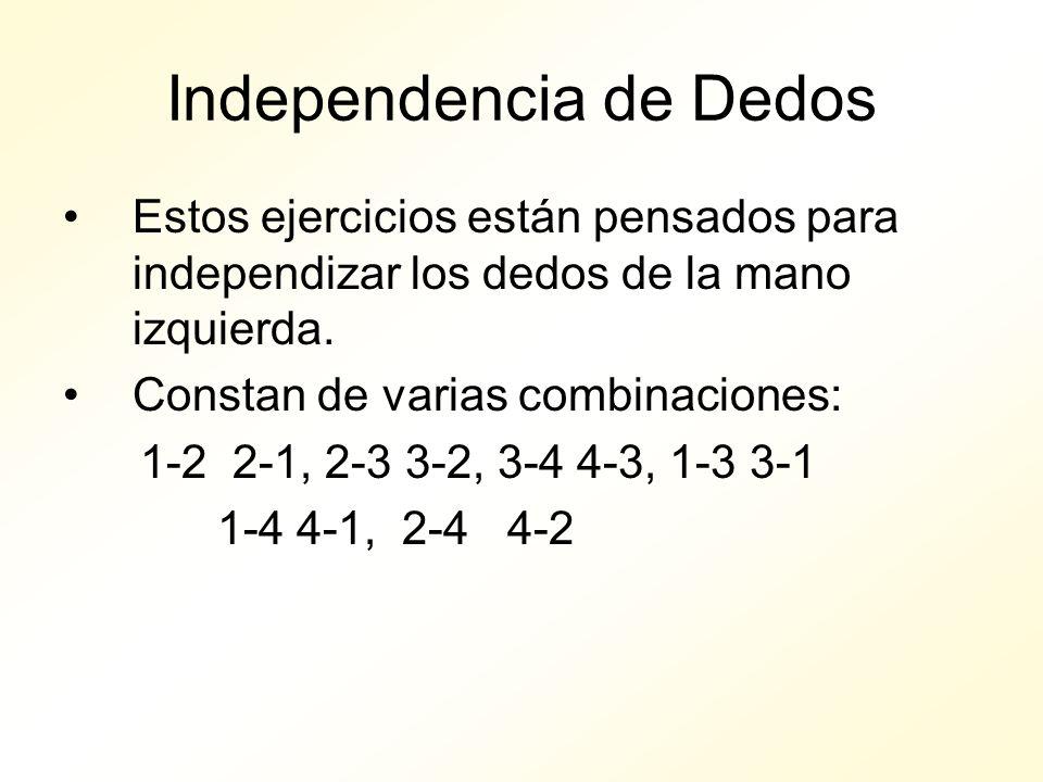 Independencia de Dedos