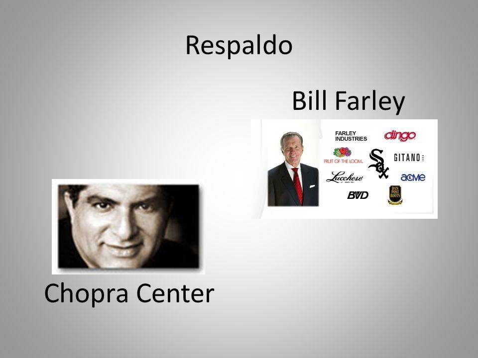 Respaldo Chopra Center Bill Farley